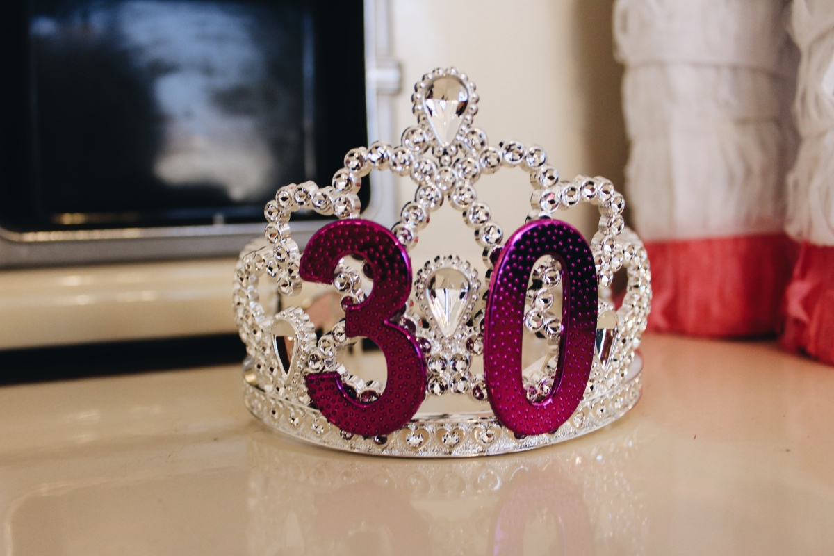 30th birthday party, 30th birthday, birthday dinner, 30th theme party, unicorn party, dirty thirty